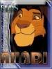 Un lindo avatar de Ahadi hecho por kivana para el legado de simba. Gracias.