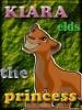 Un lindo avatar de Kiara hecho por kivana para el legado de simba. Gracias.