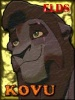 Un lindo avatar de Kovu hecho por kivana para el legado de simba. Gracias.