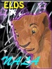 Un lindo avatar de Nala hecho por kivana para el legado de simba. Gracias.