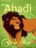 Un genial avatar de Ahadi para todos los fans de este personaje, muchísimas gracias a Barbhy528 por donarlo a el legado de simba