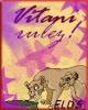 Un lindo avatar de Vitani hecho por Naliita,Luli para el legado de simba. Gracias.