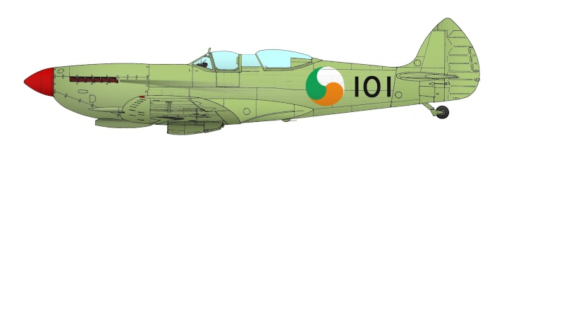 spitfire ixbiplace101irlande