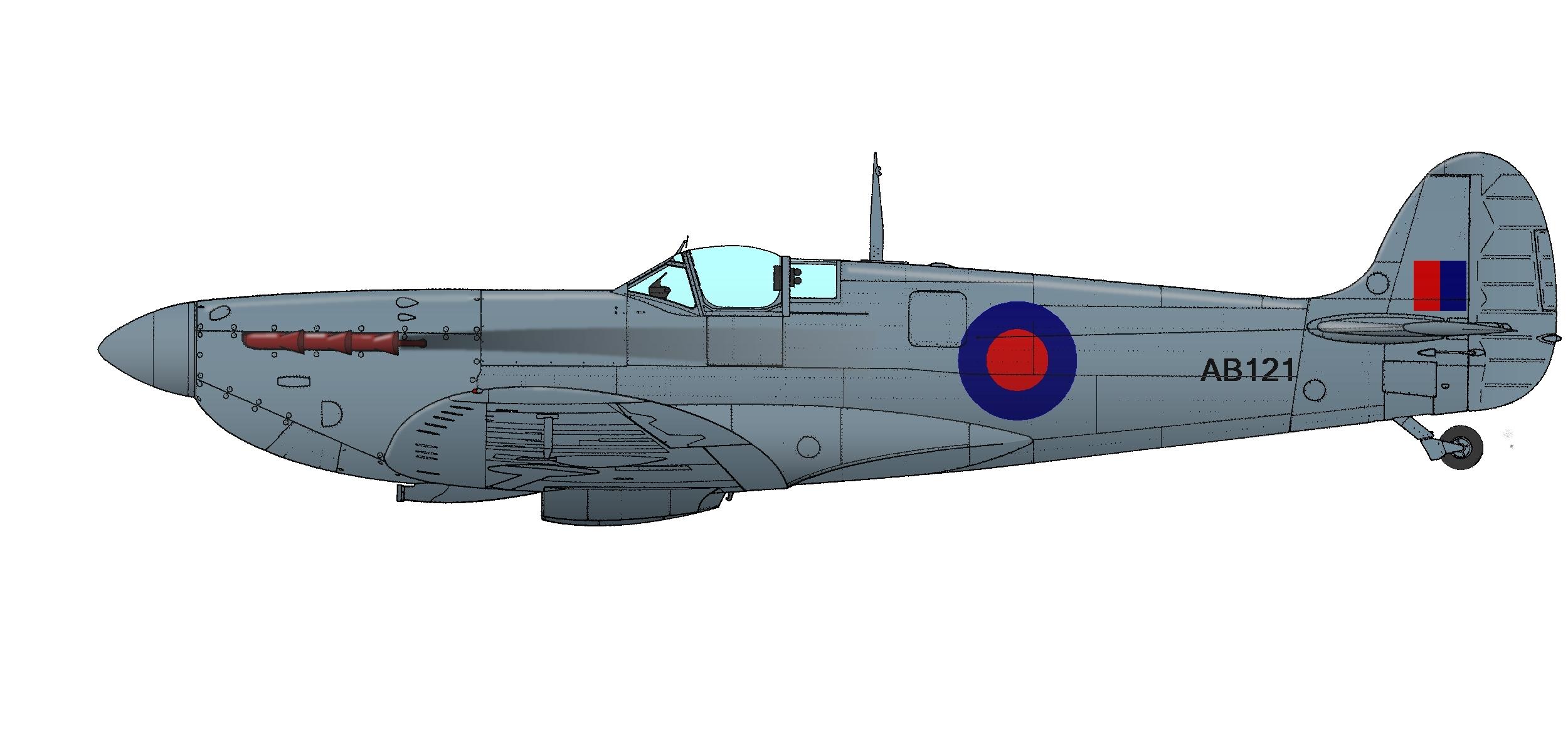 spitfire pr ivab121