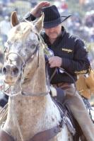 Paloose rider
