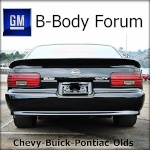 GM B-Body Forum