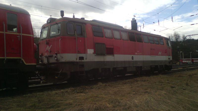 Lokomotiven im Ruhestand bei der Arbeit ... 00126