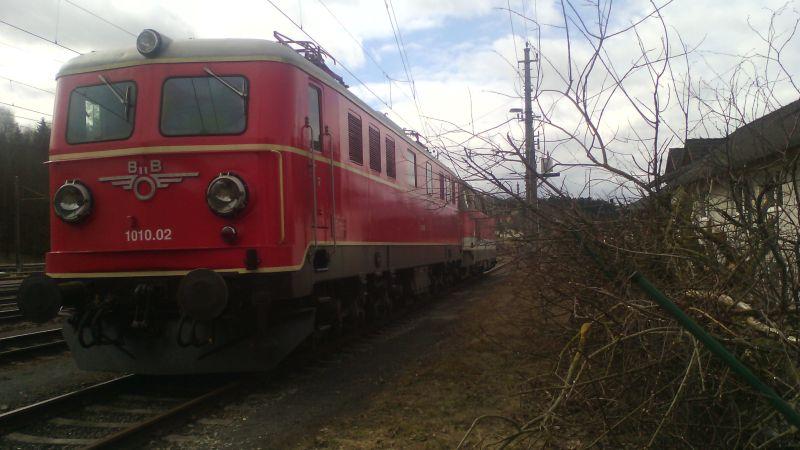 Lokomotiven im Ruhestand bei der Arbeit ... 00220