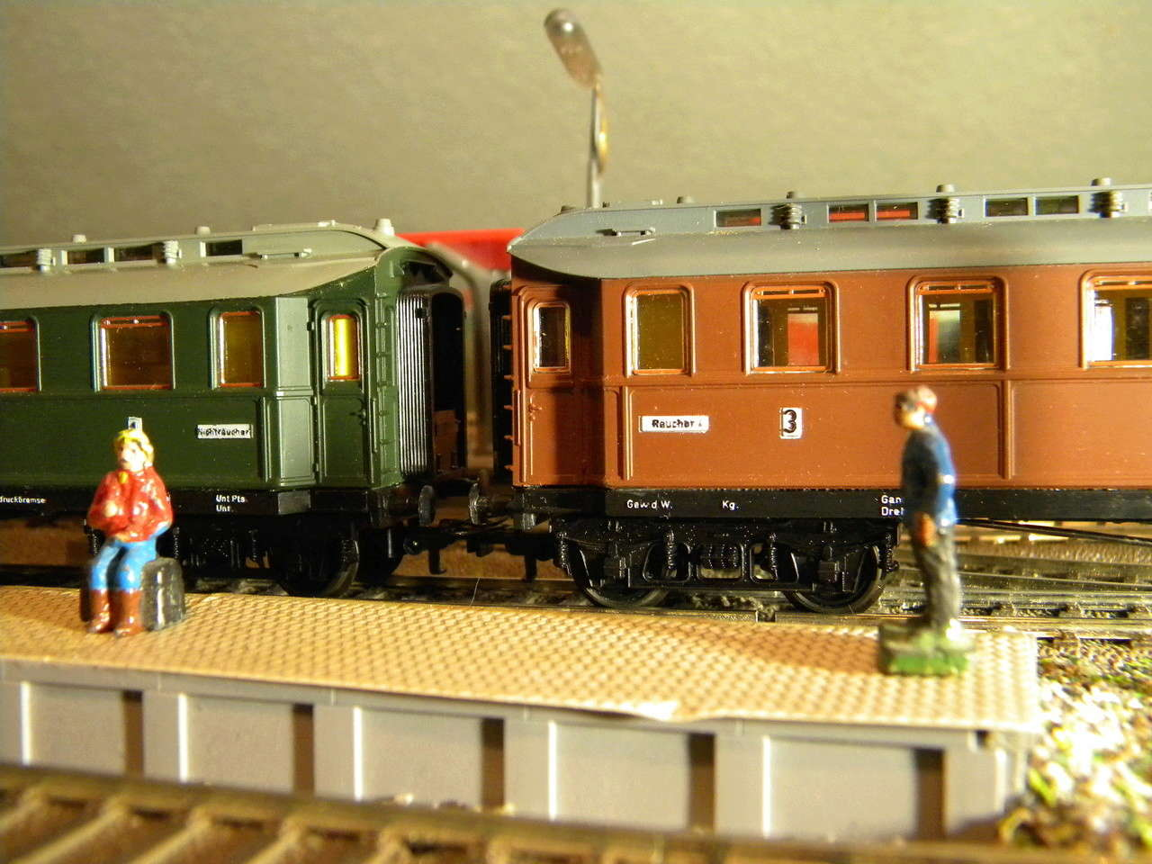 Kleinbahn 384 D-Zugwagen 1910 grün 00231
