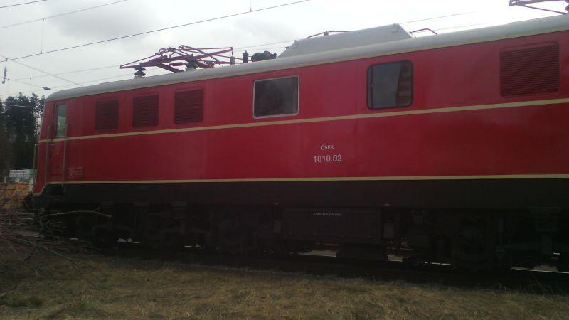 Lokomotiven im Ruhestand bei der Arbeit ... 00319
