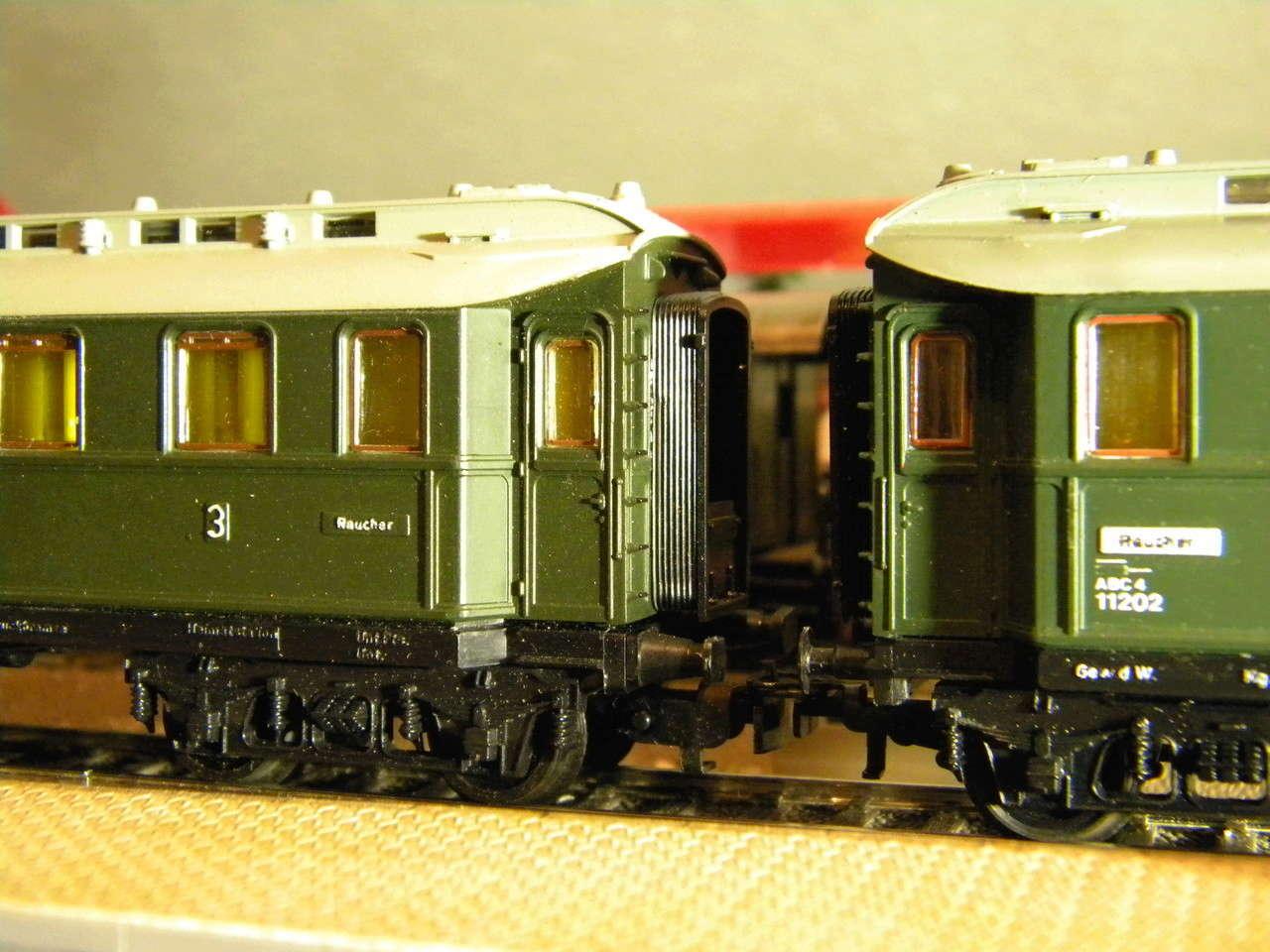 Kleinbahn 384 D-Zugwagen 1910 grün 00331