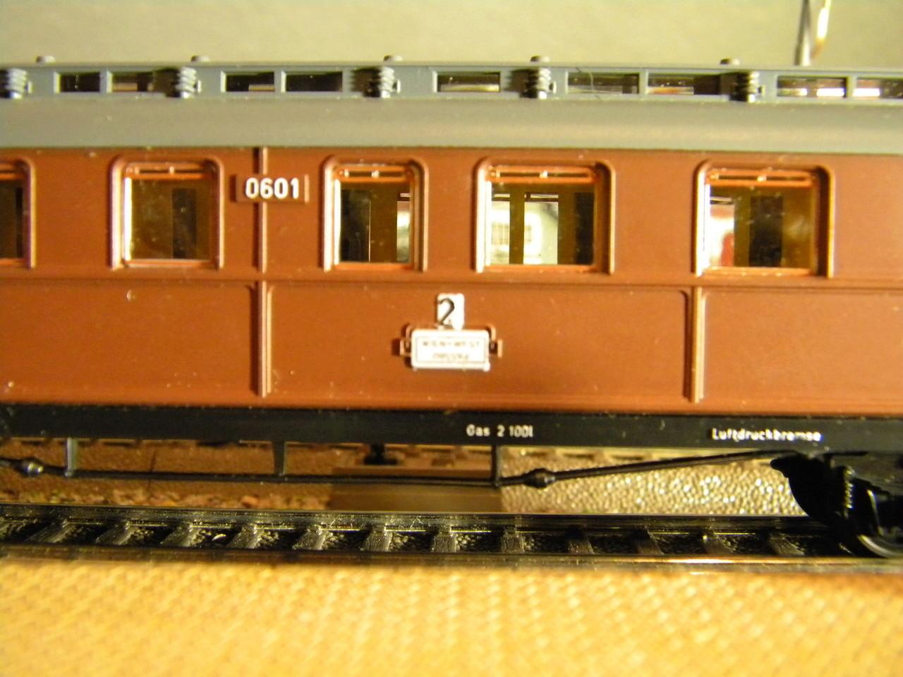 Kleinbahn 384 D-Zugwagen 1910 grün 00429