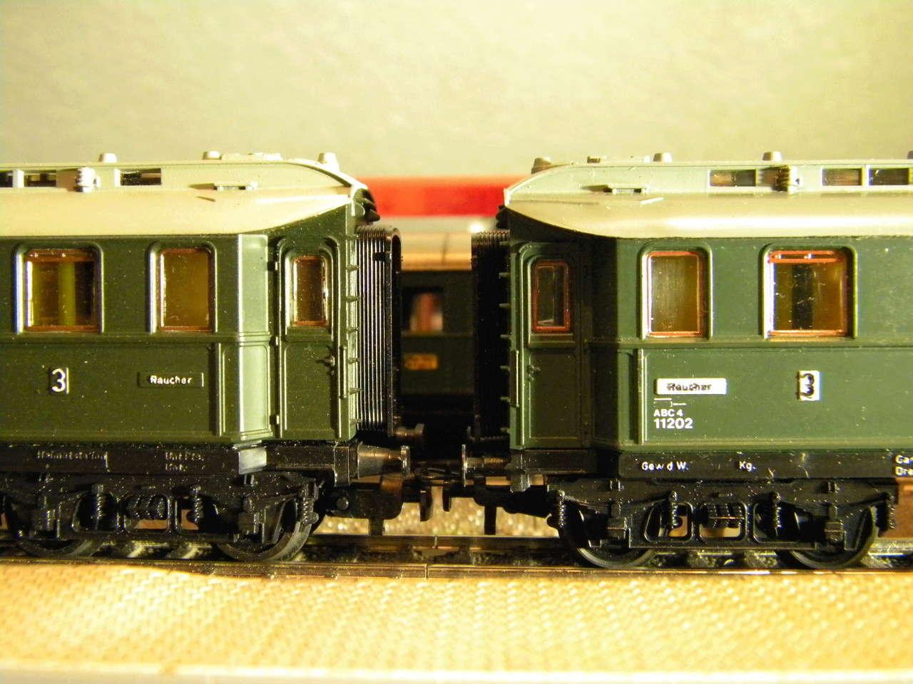 Kleinbahn 384 D-Zugwagen 1910 grün 00724
