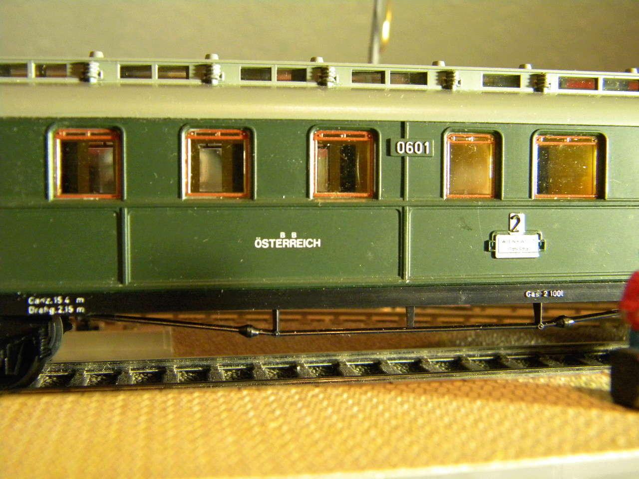Kleinbahn 384 D-Zugwagen 1910 grün 00824