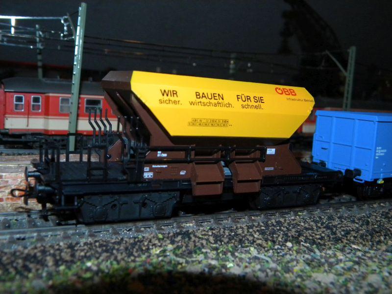 Kleinbahn 361 Schotterwagen ÖBB 361_0010