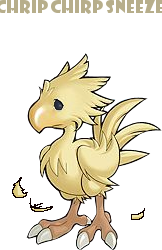 Overly Shedding Chocobo