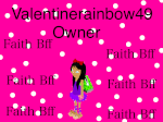 Valentinerainbow49 Admin