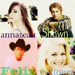 Anna, Shawn, Vyky, Felix