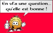 bonne question