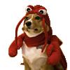 A dog lobster