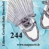 """244 """"Le numéro 244 attend, attend... mais quoi au juste ?..."""" - un texte de Liliane Gerbail, illustré par Julie Demichel  et mis en forme par Cloé Perrotin - janvier 2015 - album dès 9 ans - www.majuscrit.fr, rubrique """"tout-petits"""" - en lecture et téléchargement gratuit   janvier 2015 - album dès 9 ans."""