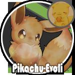 Pikachu-Evoli