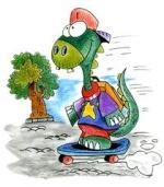 Mimi le Dino