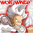 Wolf-white.
