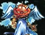 Luan Pumpkin Head