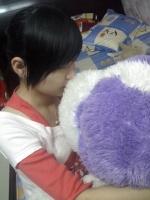 gau_con_love_ngu_dong