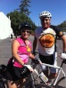Mark & Mary Kay at the rest stop (mile 12) of The Tour de Fresno  Sep 18 2010
