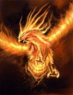 Winged phoenix*