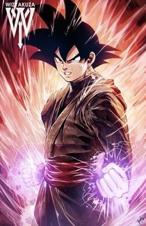 Miraï Black Goku