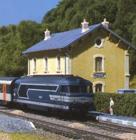 Les trains de travaux. 614-88