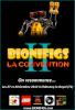 L'affiche officielle de la Convention 2 des fans de BIONIFIGS les 27 et 28 octobre 2012 à Châtenoy-Le-Royal.