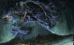 the dark dragon blue
