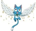 Happy Neko Azul