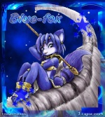 blue-fox