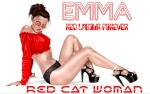 Red Cat Woman