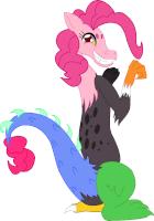 Draconequus Pinkie