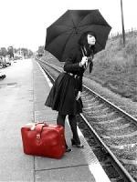 مسافرة