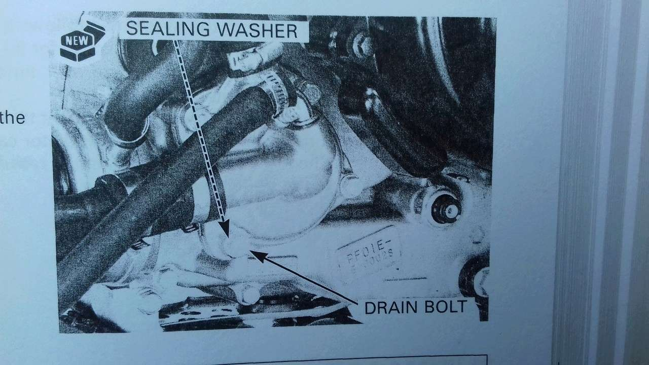 Coolant change Water_10