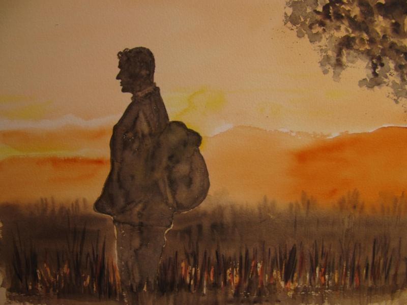 Logan Mountstuart at sunset, by Marina