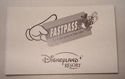 [Fastpass] Le système Fastpass, VIP Fastpass, Fastpass PREMIUM & Disney's Hotel Fastpass Fastpa11