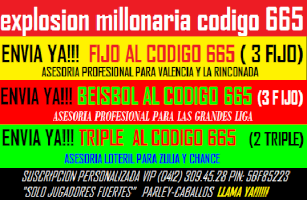 PARLEY GRATIS Y DATOS DE PARLEY LA MEJOR INFORMACION DEPORTIVA DE VENEZUELA Y EL MUNDO----------------------------------------------- (((click aqui))) Banner11