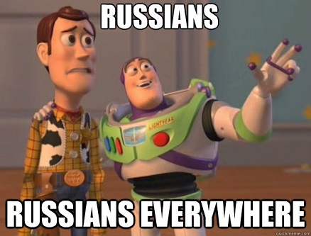 Russians everywhere