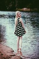 Блондиночка