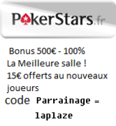 Mot de passe Welcome to Club Poker sur PokerStars le 12/11 à 20h15 2231016183