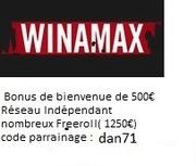 Mot de passe Tournoi T'as un ticket avec Wam sur Winamax le  30/05 à 21h00 2752938661