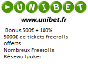 Mot de passe Clubber Night Club Poker sur Unibet le 03/04 à 21h00 buy-in 1€ 4014839660